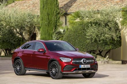 Mercedes-Benz Glc Diesel Coupe GLC 300d 4Matic AMG Line Premium 5dr 9G-Tronic